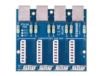 Lightning protection module EXT series for LAN, PTU-54-EXT/PoE