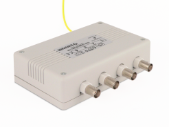 4-channel surge protection for  AHD,CVI,TVI  with UTP Video baloon and coaxial cable series PRO with power supply
