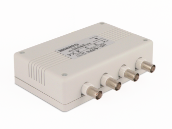 Video surge protection for coaxial cable and UTP, LKTO-4