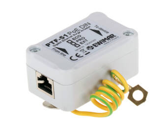 LAN, Ethernet surge protection mounted on DIN rail, PTF-51-PRO/PoE/DIN