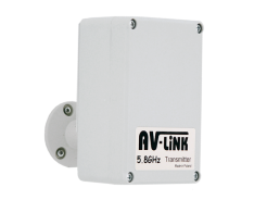 Wireless sender to AHD cameras, range up to 300 meters