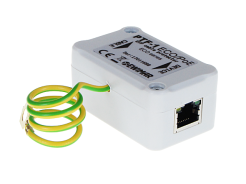 Universal surge protector for Ethernet 100Base-T