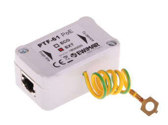 1-channel surge protection to LAN Gigabit Ethernet, PTF-61-EXT