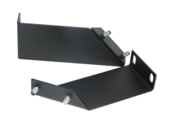 Angle bracket for patch-panels and surge protectors mounted in RACK , LK-Mount