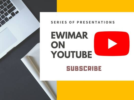 Ewimar on air: The second in a series of presentations in English on Youtube