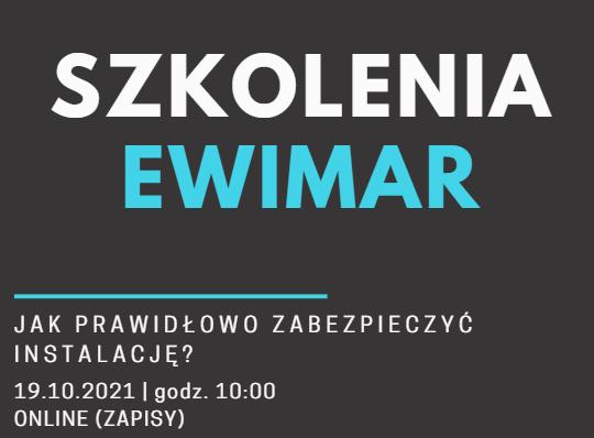 Szkolenia Ewimar - zapowiedź